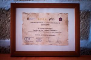 imagen Saborea San Miguel | 2do premio mejor presentación, calidad y servicio
