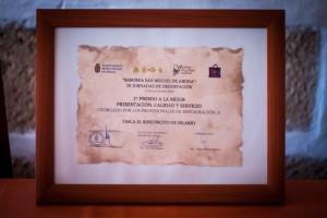 imagen Saborea San Miguel | 1er premio mejor presentación, calidad y servicio
