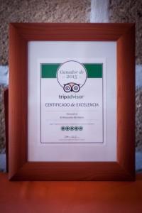 imagen Tripadvisor® Certificado de Excelencia 2015