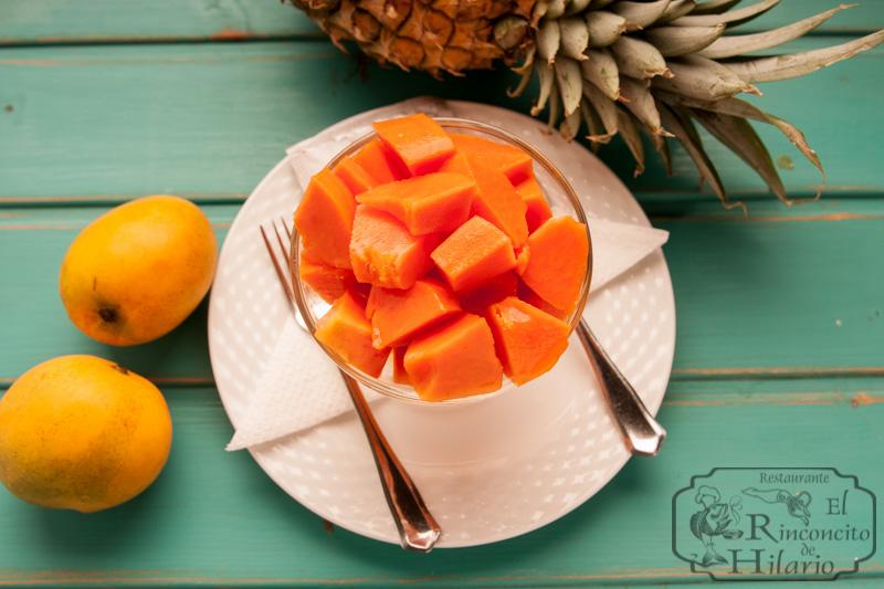 imagen Papaya con naranja